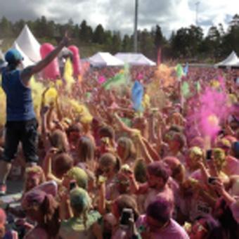 Color Me Rad – årets  roligaste lopp